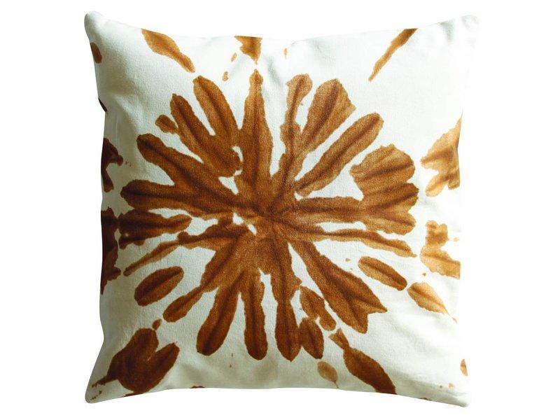 UNC Sierkussen Splash oranje - 45x45 cm