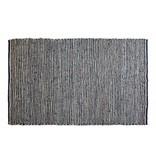 BePureHome Vloerkleed Runway jute/leer - 240x170 cm