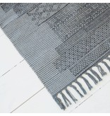 House Doctor Vloerkleed Karma grijs - 60x90 cm