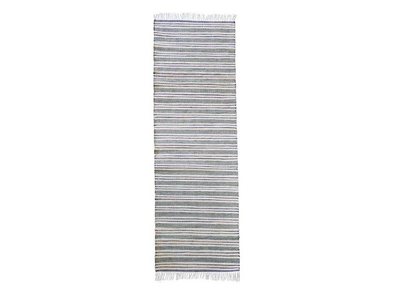 House Doctor Vloerkleed Rami wit/grijs - 70x240 cm
