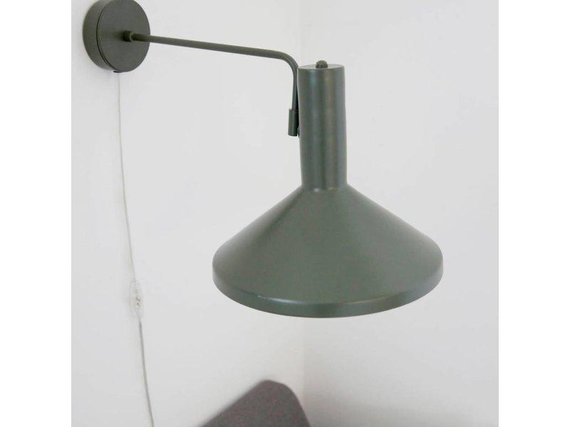 House Doctor Wandlamp Mall Made groen - 28x23x70 cm