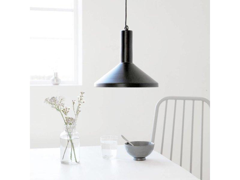 House Doctor Hanglamp Mall Made Zwart - 28x23 cm