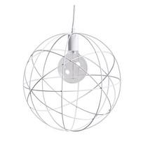Hanglamp Wit/Metaal - Ø40 cm