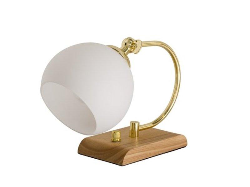 Bloomingville Tafellamp hout - 25 cm