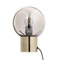 Tafellamp Goud/zilver - Ø18x25 cm