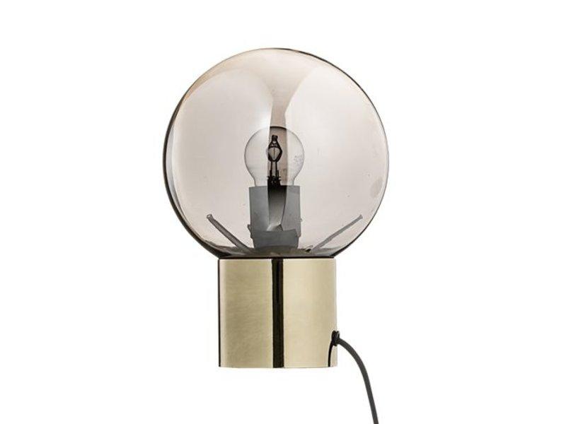 Bloomingville Tafellamp Goud/zilver - Ø18x25 cm