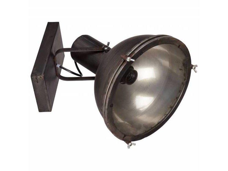 BePureHome Wandlamp Spotlight Zilvergrijs - 29,5x26x28,5 cm