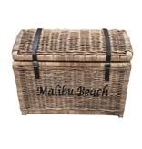 GeWoon Rieten schatkist L - Malibu Beach