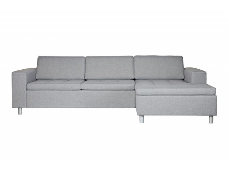 Woood Hoekbank Tango grijs - 287x154xH61,5 cm