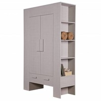 Woonkast Hidde taupe - 185x116x45 cm