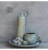 GeWoon Vaas grijs aardewerk - 20x14xH16 cm