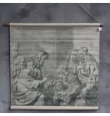 GeWoon Schoolplaat Kinderen - 90x82 cm