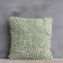 Sierkussen Chenile Groen - 40x40 cm