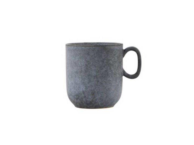 House Doctor Mok grijs porselein - Ø9x9,5 cm