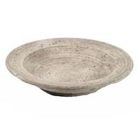 Ronde schaal grijs - Ø17,5x5,5 cm