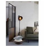 BePureHome Vloerlamp Spotlight Wit - 167x54x45 cm