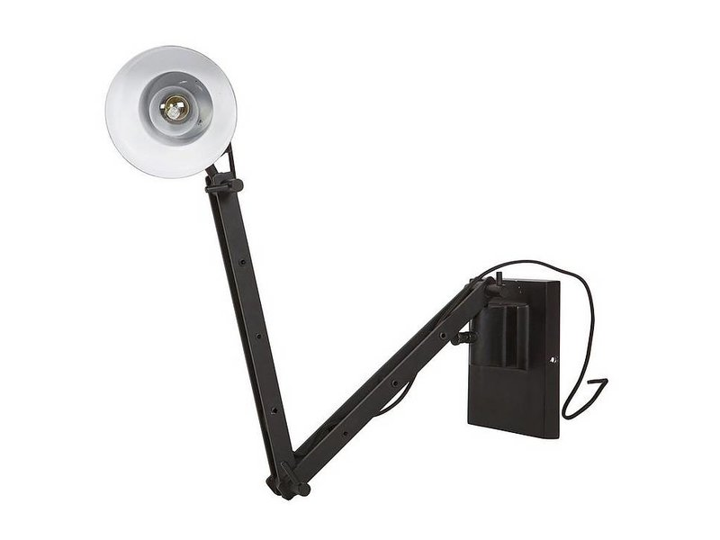 BePureHome Zwarte Wandlamp Beam - 14x40 cm