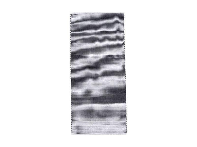 House Doctor Vloerkleed Function zwart/grijs - 90x200 cm