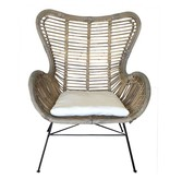 GeWoon Rotan Vlinderstoel - 70x76x90 cm