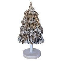 Kerstboom Whitewash Falkland - Ø40xH85 cm