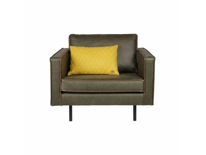 BePureHome Fauteuil Rodeo Army - 105x86xH85 cm