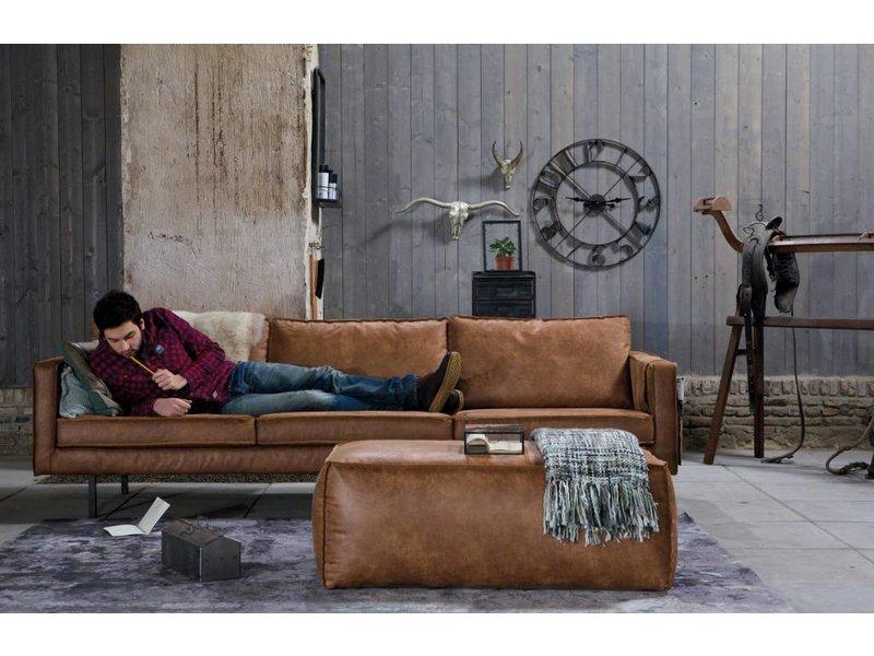 BePureHome Zitbank Rodeo Cognac - 277x86xH85 cm