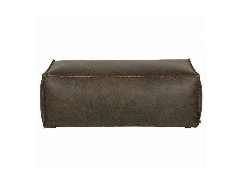 BePureHome Poef Rodeo Army - 120x60xH43 cm