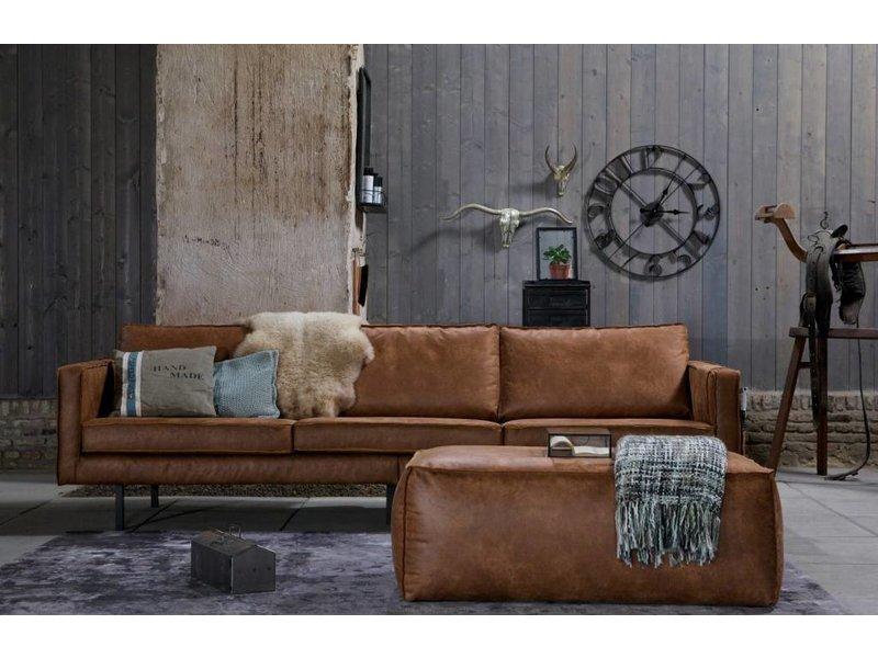 BePureHome Poef Rodeo Cognac - 120x60xH43 cm
