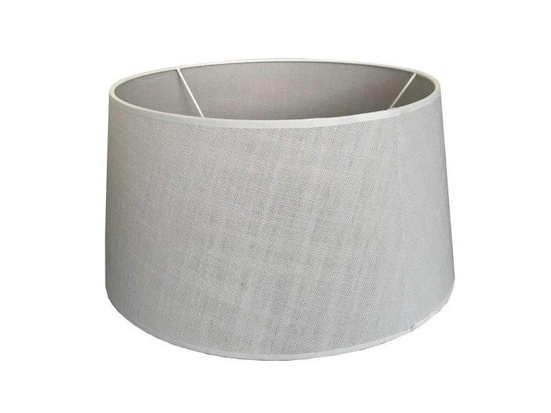 GeWoon Offwhite lampenkap linnen - Ø40xH23 cm
