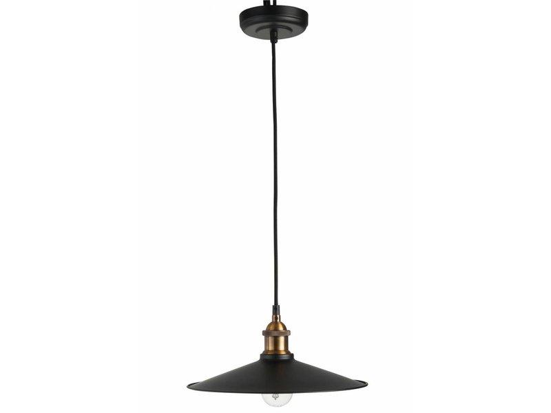 J-Line Hanglamp Modern Zwart Metaal - Ø20xH120 cm