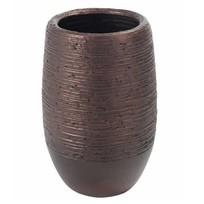 Vaas Terracotta Koper - Ø24xH41 cm