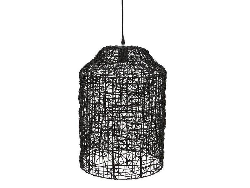 By-Boo Hanglamp Quick Zwart - Ø35xH51 cm