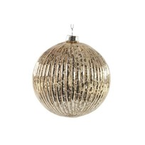 Kerstbal Blejan Goud - 10xH10 cm