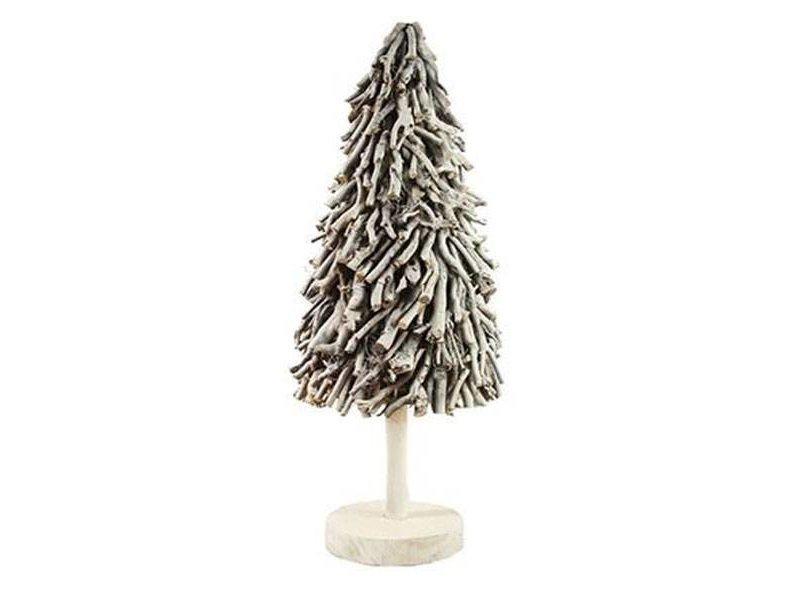 GeWoon Kerstboom Sidell Wit - Ø35xH100 cm
