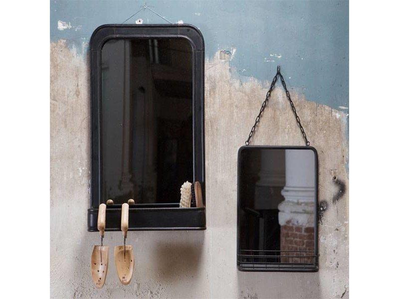 BePureHome Wandspiegel Speachless Zwart