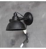GeWoon Wandlamp Zwart - 21x31x18 cm