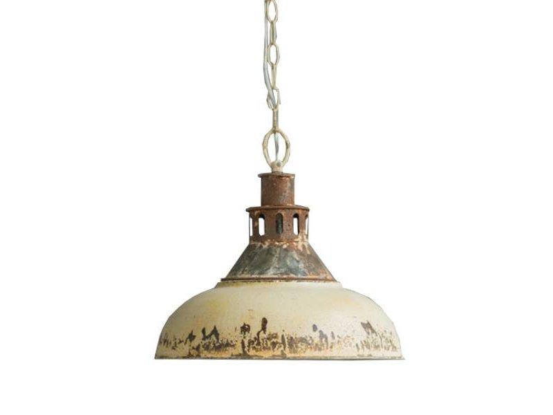 GeWoon Crème metalen hanglamp - Ø36xH33 cm