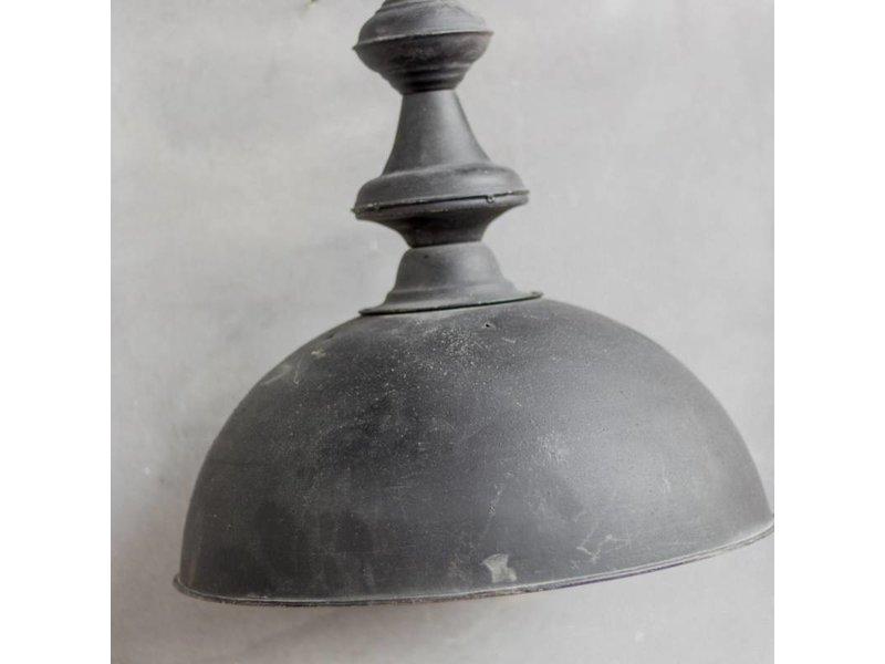 GeWoon Zwarte metalen hanglamp - Ø39xH70 cm