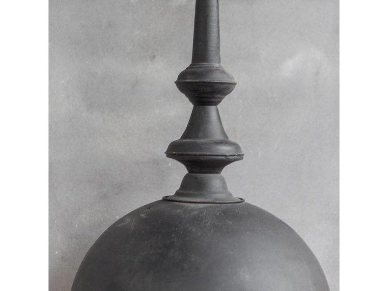 GeWoon Zwarte metalen hanglamp - Ø31xH58 cm