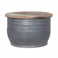 Bijzettafel Storage Metaal - 70xH45 cm
