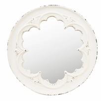 Wandspiegel Wit - Ø50 cm