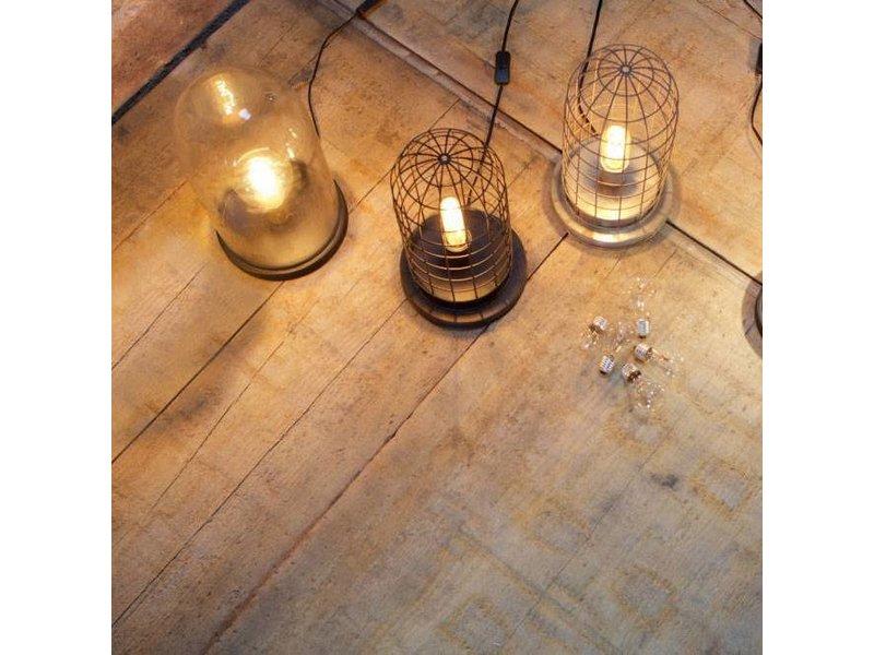 BePureHome Tafellamp Zink Hive Kooi - Ø20xH37 cm