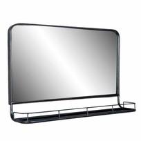 Wandspiegel met rek - 60x15xH40 cm