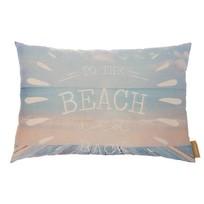 Lichtblauw Kussen Beach - 70xH50 cm
