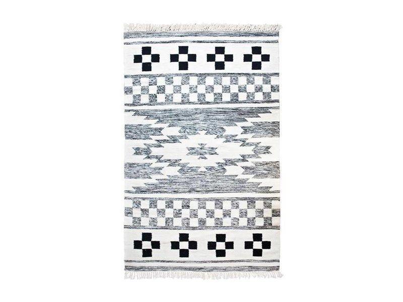 By-Boo Vloerkleed Wol Patroon - 170x240 cm