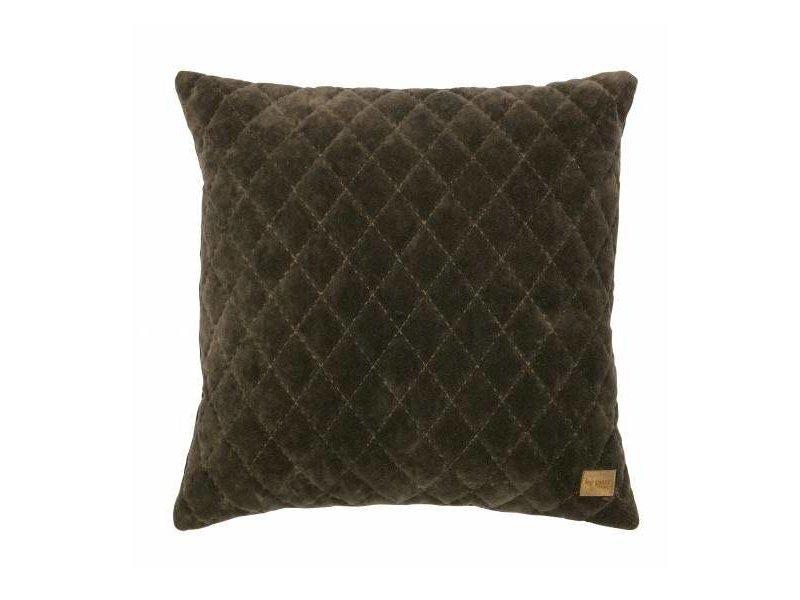 BePureHome Sierkussen Donkergroen Cuddle Diamond - 45xH45 cm