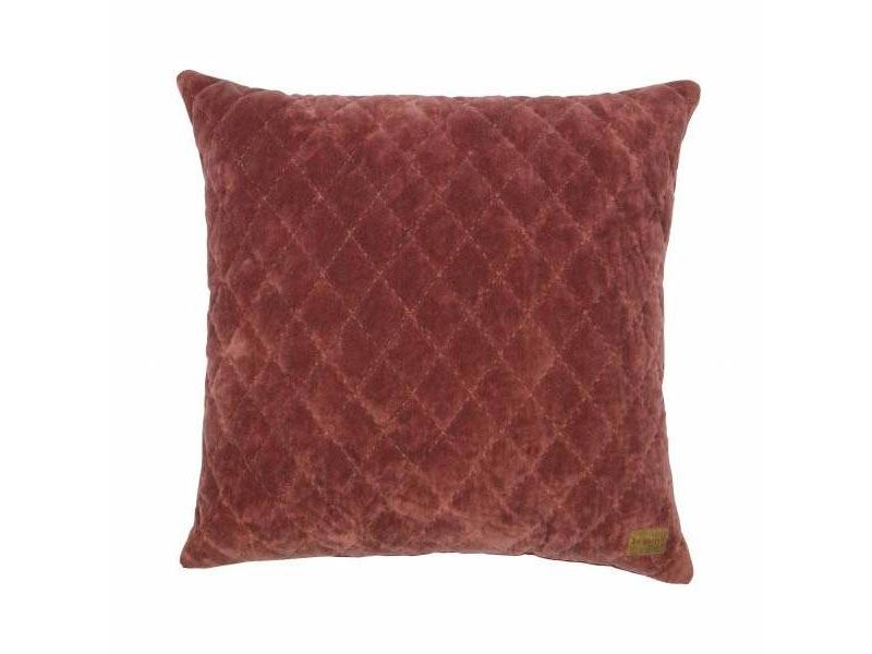 BePureHome Sierkussen Marroon Cuddle Diamond - 45xH45 cm