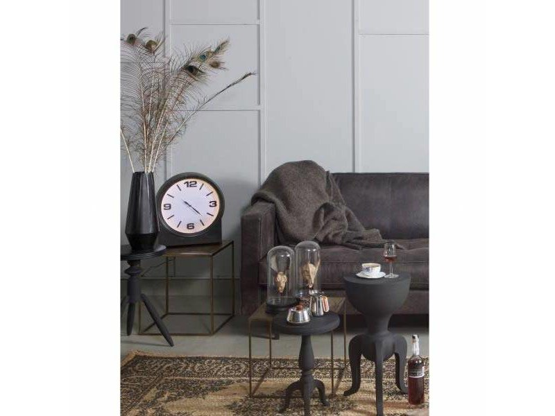 BePureHome Bijzettafel Goblet Zwart - 31x25,5xH55 cm