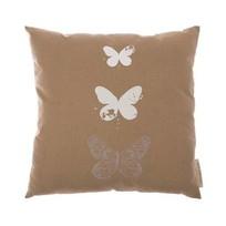 Kussen Butterfly Beige - 45xH45 cm