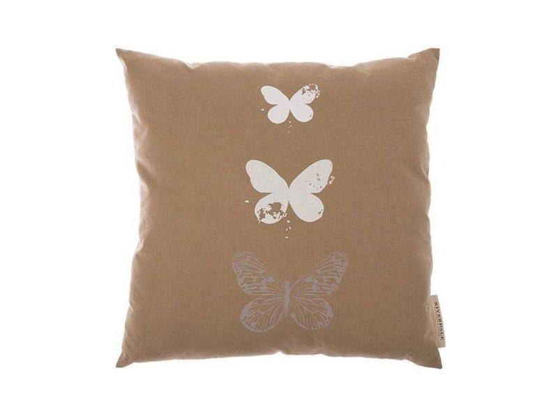 Riverdale Kussen Butterfly Beige - 45xH45 cm